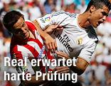 Cristiano Ronaldo (Real Madrid) gegen Carlos Gurpeg (Athletic Bilbao)