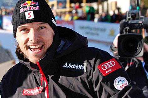 Snowboarder Siegfried Grabner