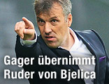Neuer Austria-Trainer Herbert Gager