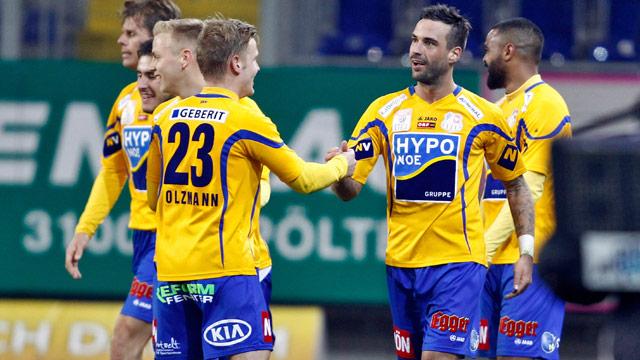 Erste liga st p lten feiert derby kantersieg sport for Ergebnisse erste liga