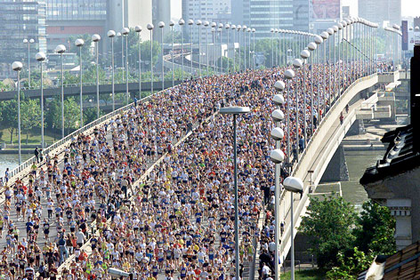 Starterfeld Reichsbrücke, 2001
