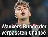 Enttäuschung von Lukas Hinterseer (Wacker)