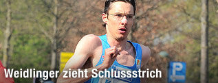 Günter Weidlinger läuft
