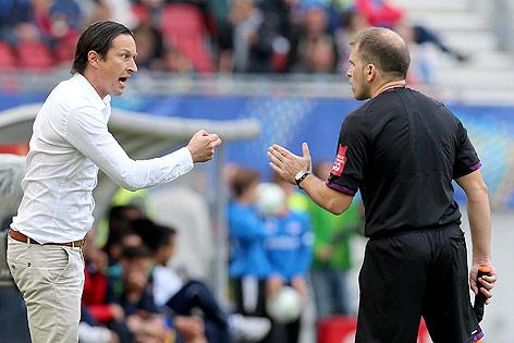 Salzburg-Trainer Roger Schmidt