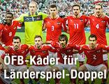 ÖFB-Mannschaftsfoto