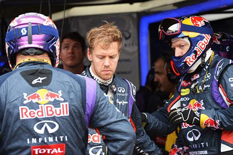 Sebastian Vettel ist enttäuscht