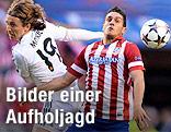 Luka Modric (Real) gegen Koke (Atletico)