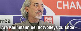 Trainer Peter Kleinmann