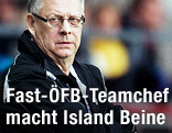 Islands Nationalcoach Lars Lagerbäck