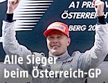 Der Finne Mika Häkkinen gewinnt am 16. Juli 2000 den Grandprix von Österreich in Spielberg