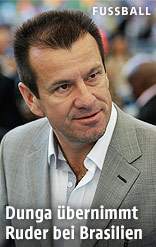 Brasiliens alter und neuer Nationaltrainer Carlos Dunga