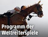 Dieter Köfler beim Springreiten