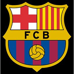 Flagge von FC Barcelona