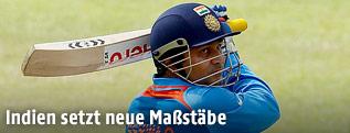 Indischer Kricketspieler Virender Sehwag
