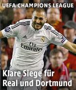 Karim Benzema jubelt