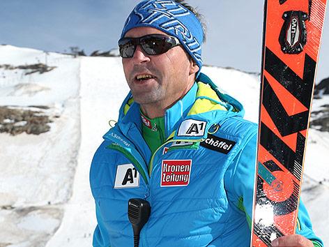 Damen-Trainer Jürgen Kriechbaum