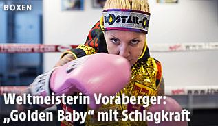 Boxerin Eva Voraberger