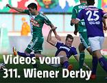 Spielszene vom 211. Wiener Derby