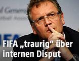 FIFA Generalsekretär Jerome Valcke