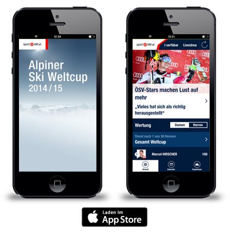 Jetzt neu die orf at sport app