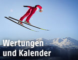 Skisprung-Sujet