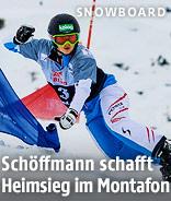 ÖSV-Snowboarderin Sabine Schöffmann