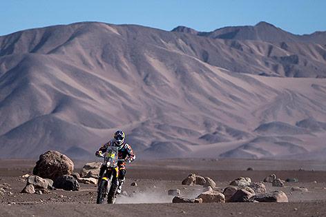 Marc Coma bei der Rallye Dakar