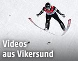 Skiflieger Jurij Tepes (SLO) in Vikersund
