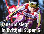 Kjetil Jansrud (NOR) im Super-G