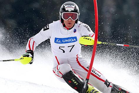 Slaven Dujakovic auf der Slalom-Piste