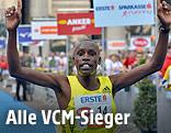 Der kenianische Marathonläufer Henry Sugut