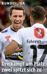 Felix Roth und Ismael Tajouri (Altach)