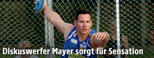Diskuswerfer Gerhard Mayer