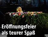 Lady Gaga bei der Eröffnung der Europaspiele