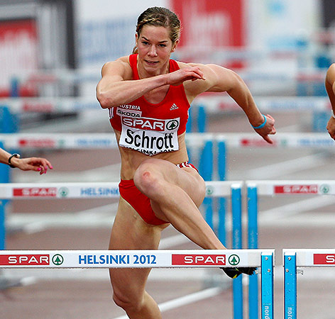 Beate Schrott in Helsinki 2012