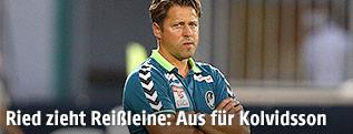 Ex-Ried-Trainer Helgi Kolvidsson