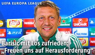 Rapid-Trainer Zoran Barisic