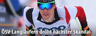 Langläufer Harald Wurm