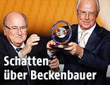 Sepp Blatter und Franz Beckenbauer, 2012