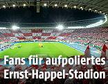 Blick in das Ernst-Happel-Stadion