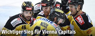 Jubel bei den Vienna Capitals