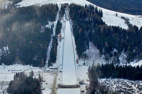 Skiflugschanze auf dem Kulm