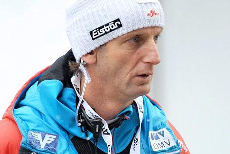 ÖSV-Trainer Heinz Kuttin