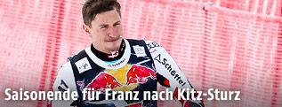 Max Franz nach seinem Sturz