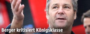 Ehemaliger Rennfahrer Gerhard Berger