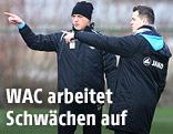 Heimo Pfeifenberger und Markus Perchthaler (WAC)