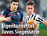 Paulo Dybala (Juventus) gegen Ezuquiel Munoz (Genoa)