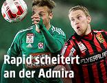 Philipp Schobesberger (Rapid) und Thomas Ebner (Admira)