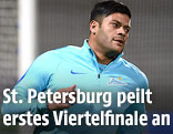 Zenit St. Petersburgs Stürmer Hulk