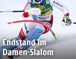 Anonyme Skifahrerin